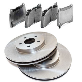 Picture of XBRAKES OEM PREMIUM BRAKE KIT Rear