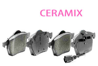 Picture of CHROMEBRAKES CERAMIX PADS Front Pad