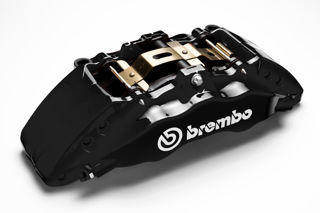 Picture of BREMBO PERFORMANCE BRAKE CALIPERS BLACK Front Left