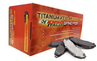Picture of Disc Italia Titanium Kevlar Front Pad