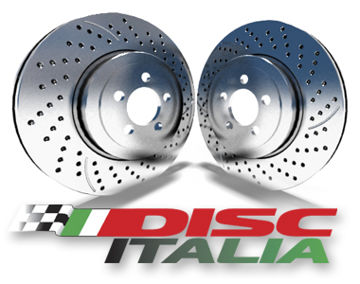Picture of DISCITALIA DRILLED AND SLOTTED Front Rotor
