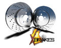 Picture of XBRAKES PERFORMANCE DRILLED AND SLOTTED BRAKE KIT Front