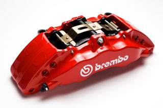 Picture of 2014 chrysler 300 brembo performance brake calipers red front left