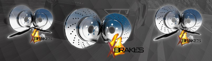 Picture of 1967 buick skylark xbrakes drilled and slotted front rotor